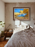 Noon Rest from Work Van Gogh Reproduction framed