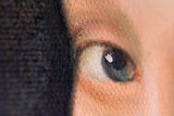 detail Girl with the Pearl Earring