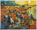 The Red Vineyard Van Gogh reproduction