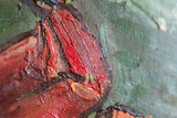 Crab on Its Back Oil Paiting Replica detail