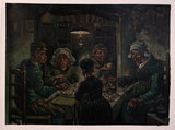 The Potato Eaters Van Gogh Reproduction