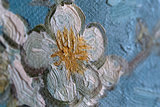 Blossoming Almond Tree Oil Painting Replica detail