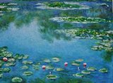 Water Lilies Monet reproduction