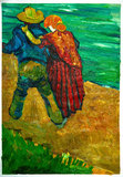 Two Lovers Van Gogh reproduction