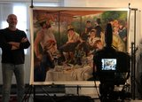 Luncheon of the Boating Party Renoir replica