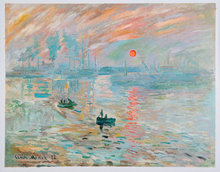 Impression, Sunrise Monet reproduction