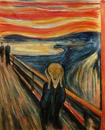 The Scream Munch reproduction
