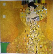 Portrait of Adele Bloch Bauer Klimt reproduction